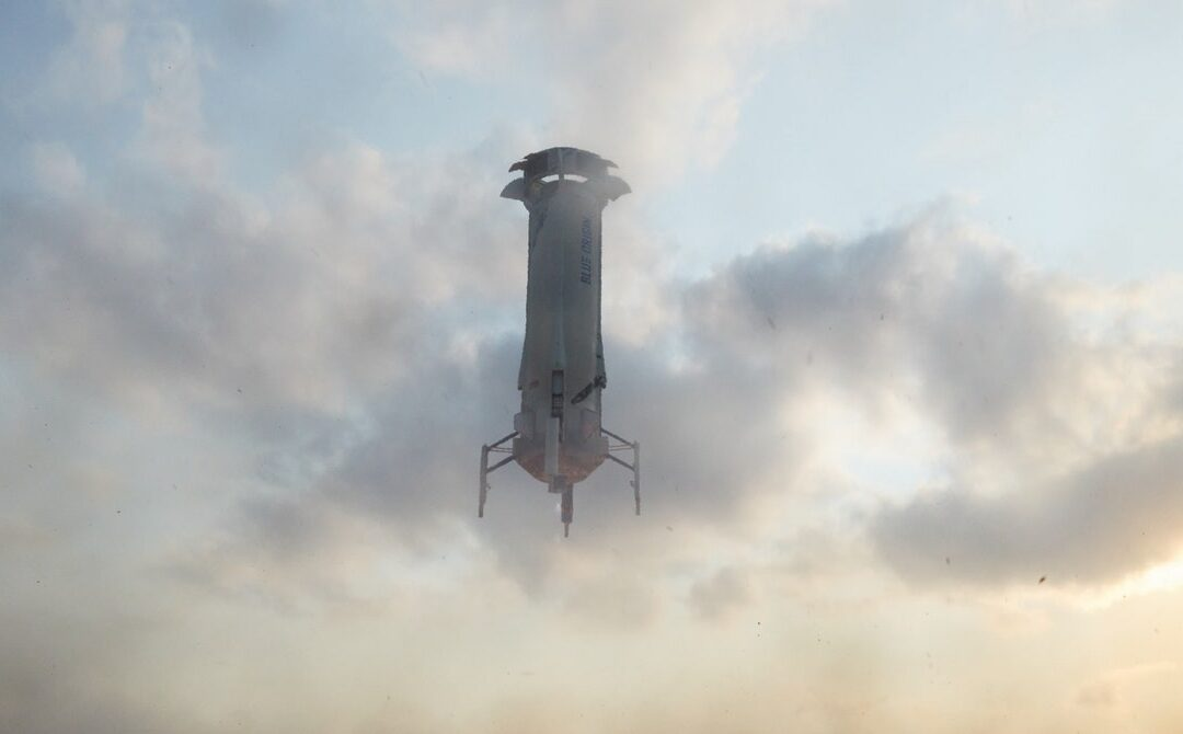 Jeff Bezos Goes to Space. Day Three: Reentry