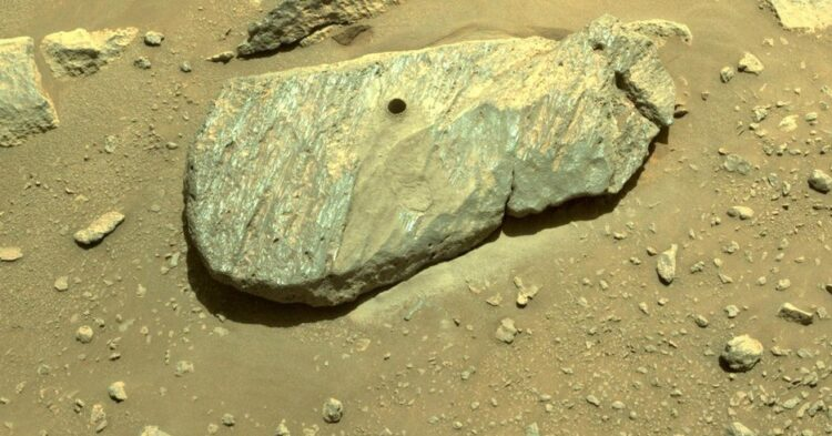 Second Time's the Charm: NASA Perseverance Drills a Mars Rock